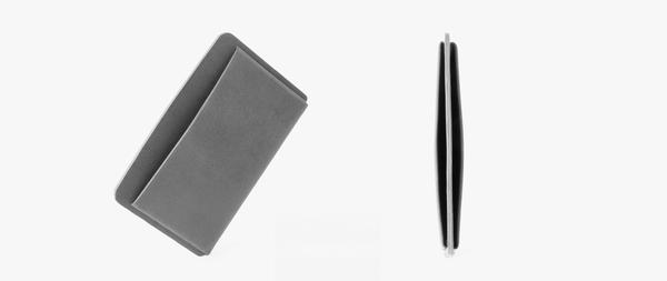 MAKR Loop Landscape Cardholder - Smooth Moss Horween Leather