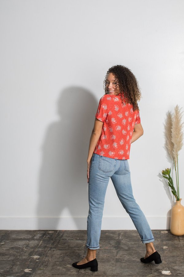 Mabel and Moss Blouse - Poppy Flora