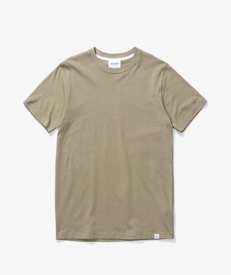 Norse Projects Niels Standard T Shirt - Olive