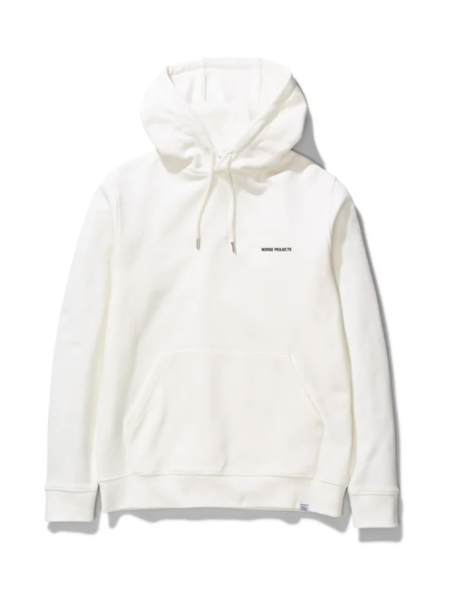 Norse Projects Vagn Logo Hood - Ecru