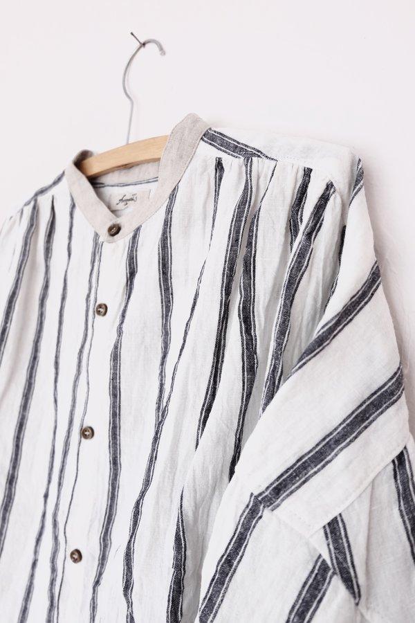 Ichi Antiquités Linen Shirt - Stripe