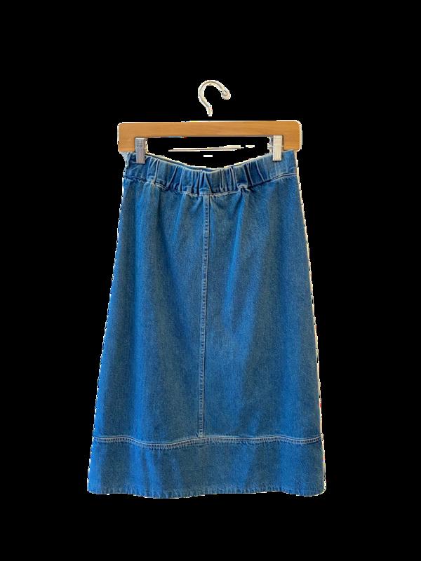 Sea NY Denim Skirt - Indigo