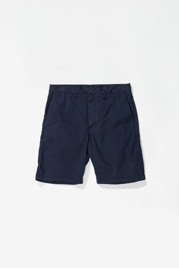 Norse Projects Aros Light twill shorts - dark navy