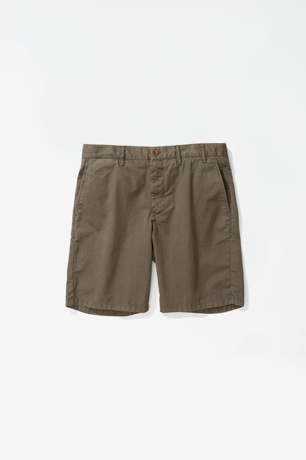 Norse Projects Aros Light twill shorts - Ivy green