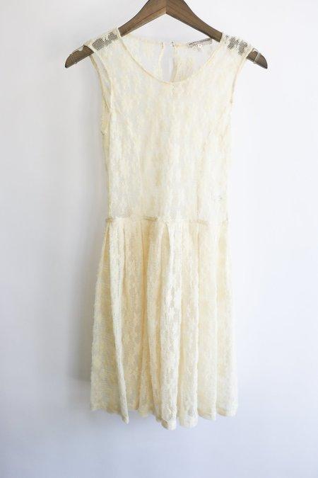 [Pre-Loved] Opening Ceremony Mini Dress - Cream