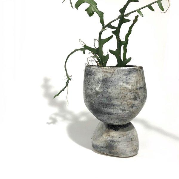 Allison Skinner Succulent Footed Planter