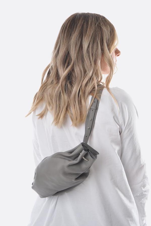 Bonastre Ring Crossboday Bag - Grey