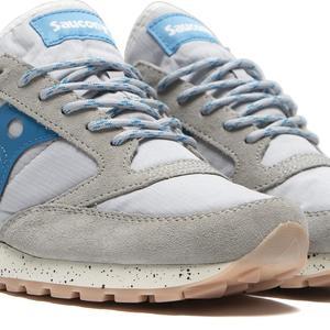 Saucony Jazz Climbing Sneaker - Marshmallow/Blue