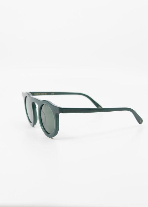 CARLA COLOUR Lind Sunglasses - Moss