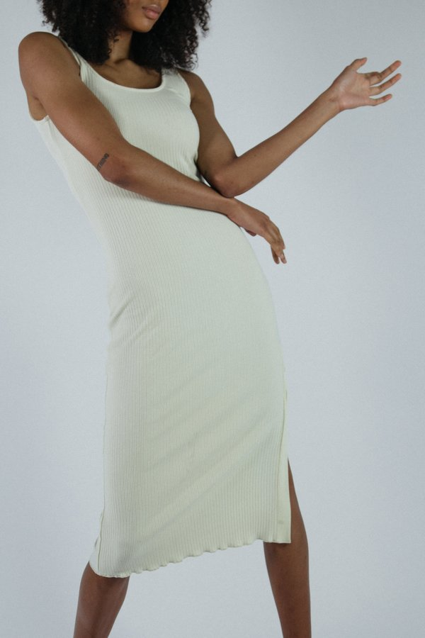 Angie Bauer Morgan Dress - Cream