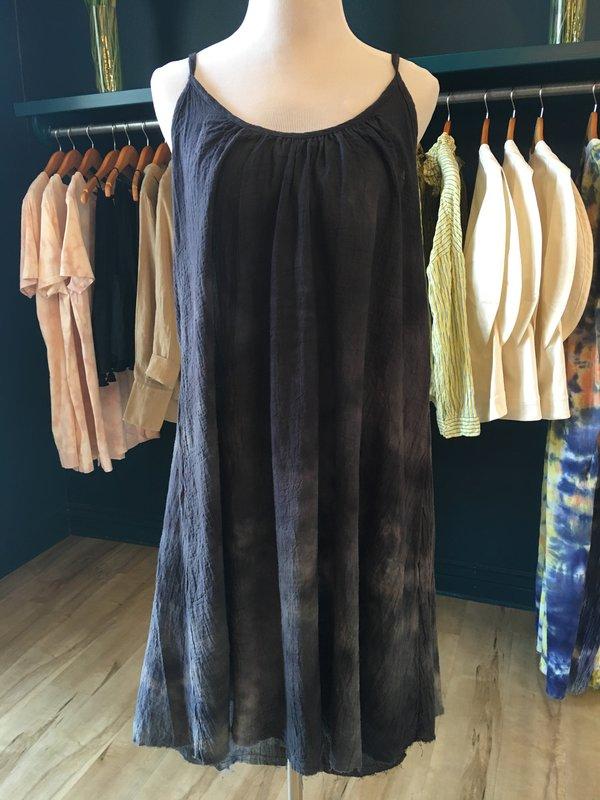 Love Tanjane Gauze Dress - Storm