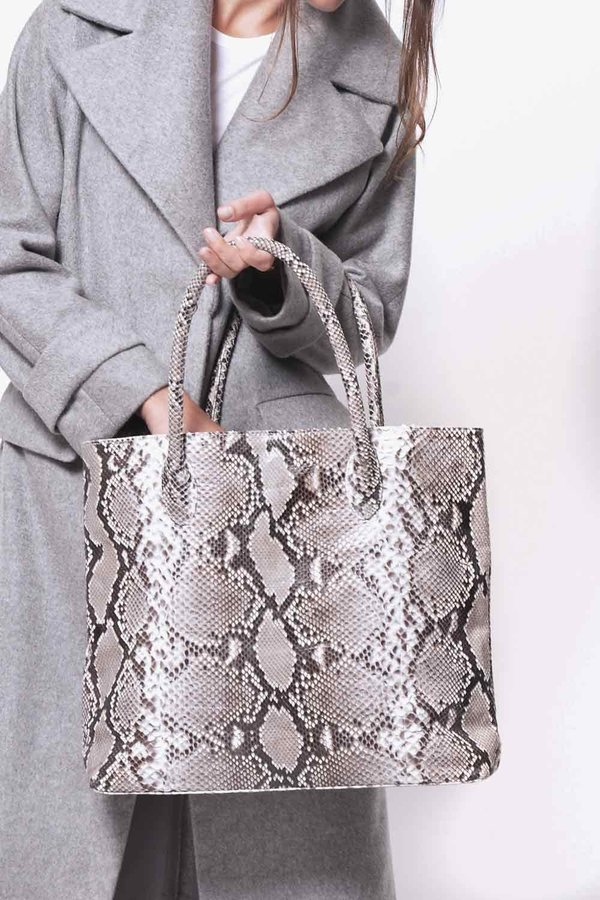 Primary New York Tall Tote - Taupe