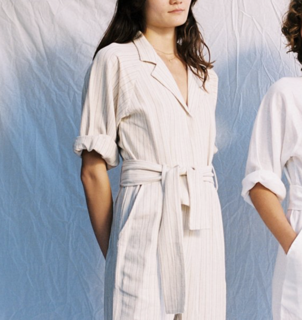 All That Remains Francoise Jumpsuits - Chocolate Stripe