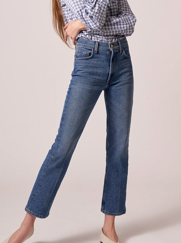 B Sides Jeans Field Mid Kick Jeans - Viva