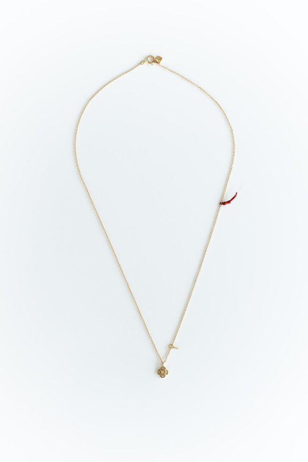 Scosha ENDLESS KNOT NECKLACE - 10K Gold