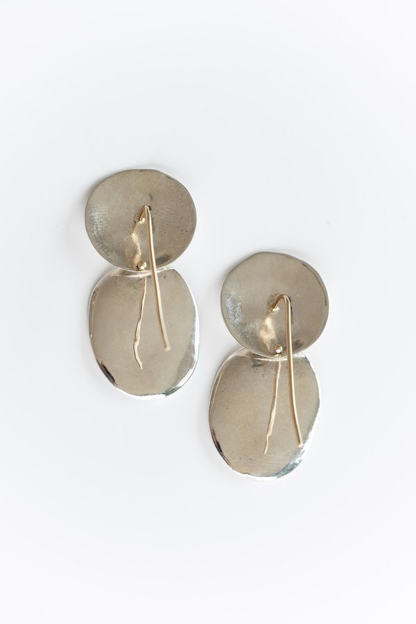 Blanca Monrós Gómez SS MAUDE EARRINGS - 14k gold