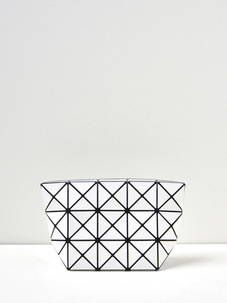 BAO BAO ISSEY MIYAKE PRISM POUCH - White