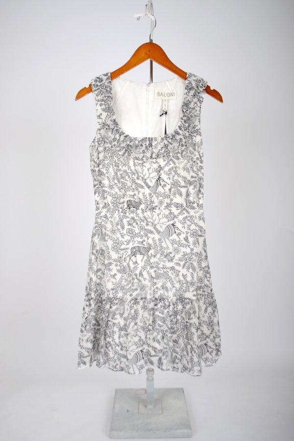 Saloni Misha Short Dress - Ivory Rajasthan