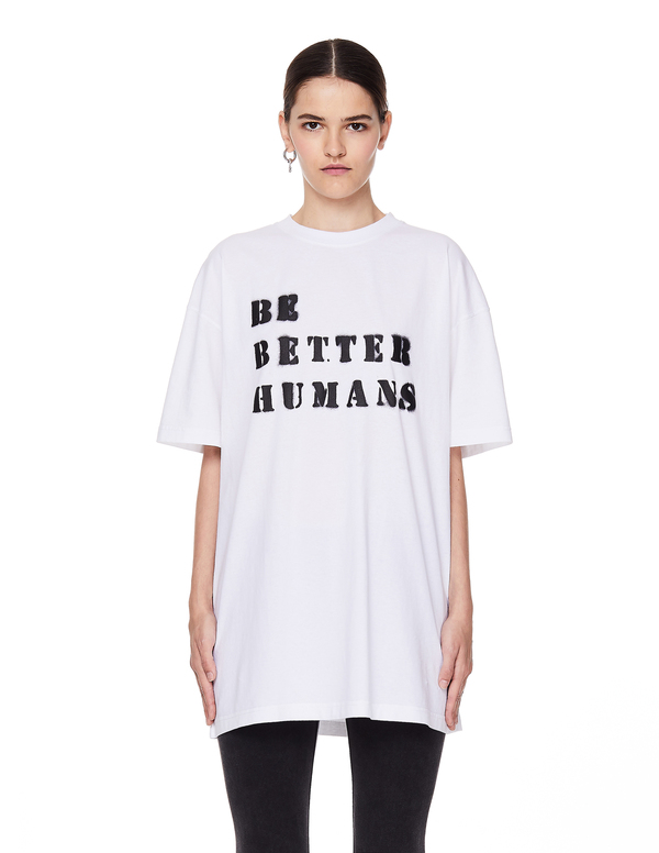 Vetements Be Better Humans T-Shirt