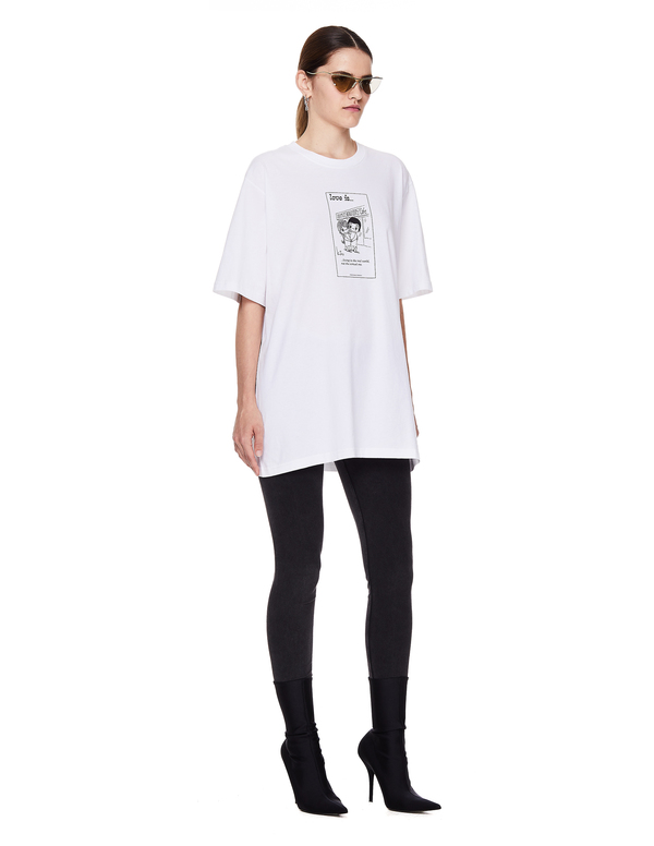 Vetements Love Is Printed T-Shirt