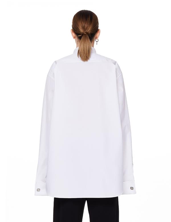 Balenciaga Cotton Shirt - White