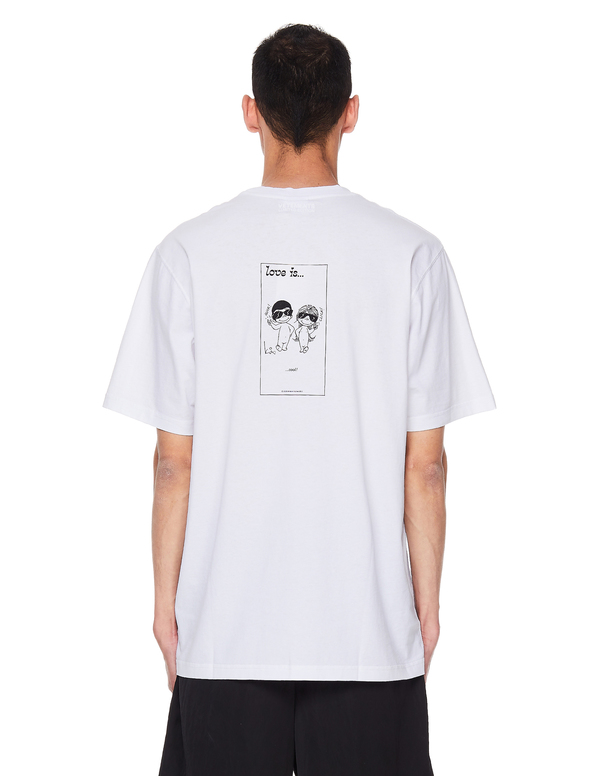 Vetements Love Is Cotton T-Shirt - White