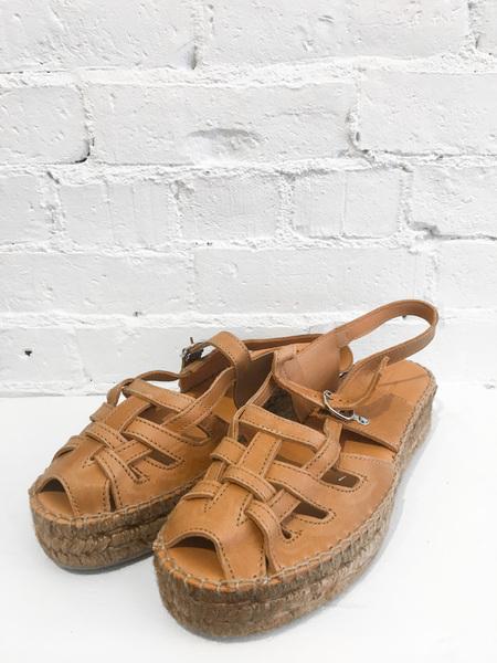 Naguisa Thalis Sandals - Honey