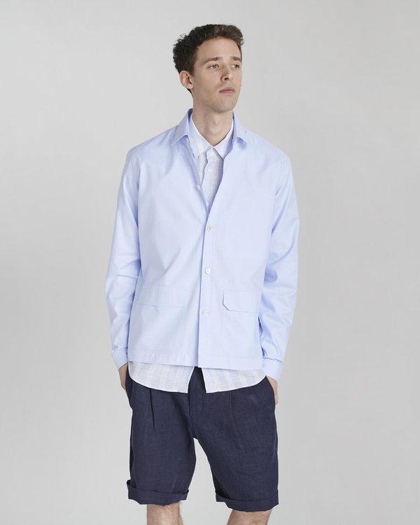 Delikatessen Overshirt - Light Blue
