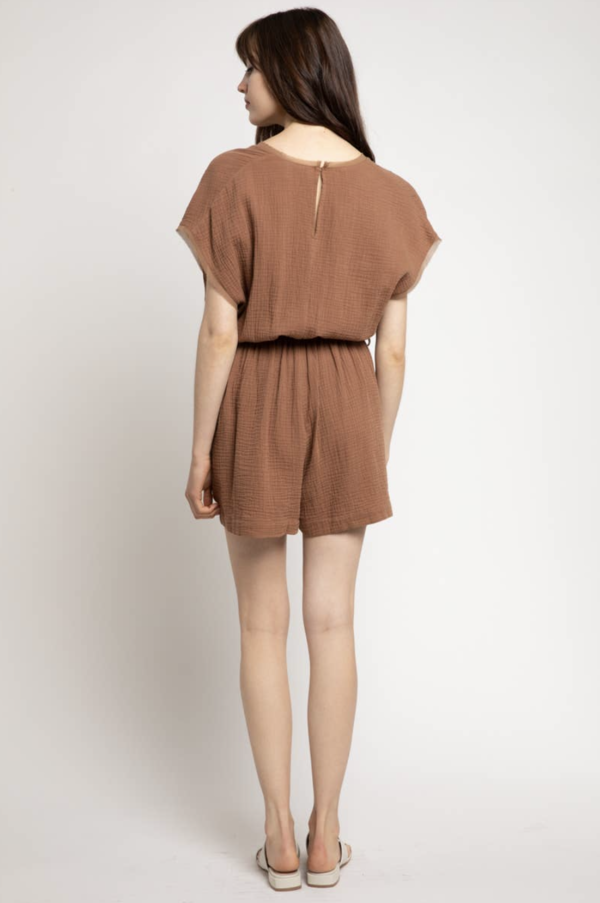 Grade & Gather Clay Jumpsuit - Clay