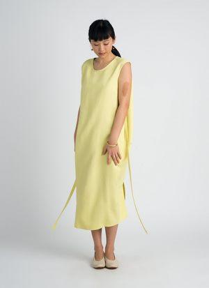 KAAREM Sài Sleeveless Side Tie Dress