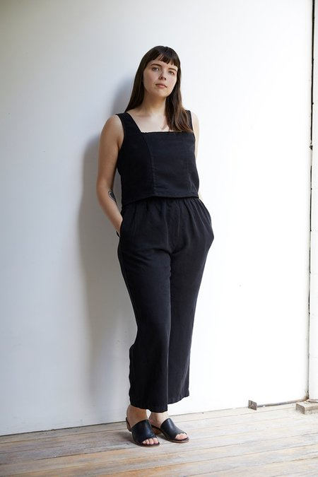 North Of West Patricia Linen Pant - Black