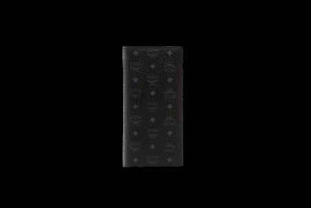 MCM Long Bifold Wallet - Visetos Original Black