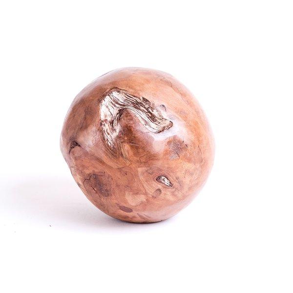 Vintage Wooden Sphere