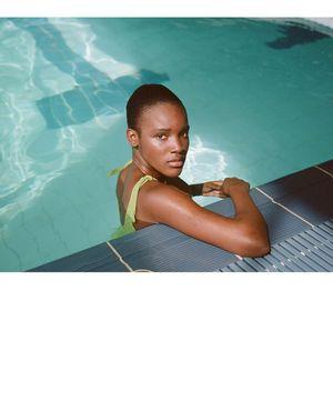 PALOMA WOOL Diablito Bikini - Medium Green
