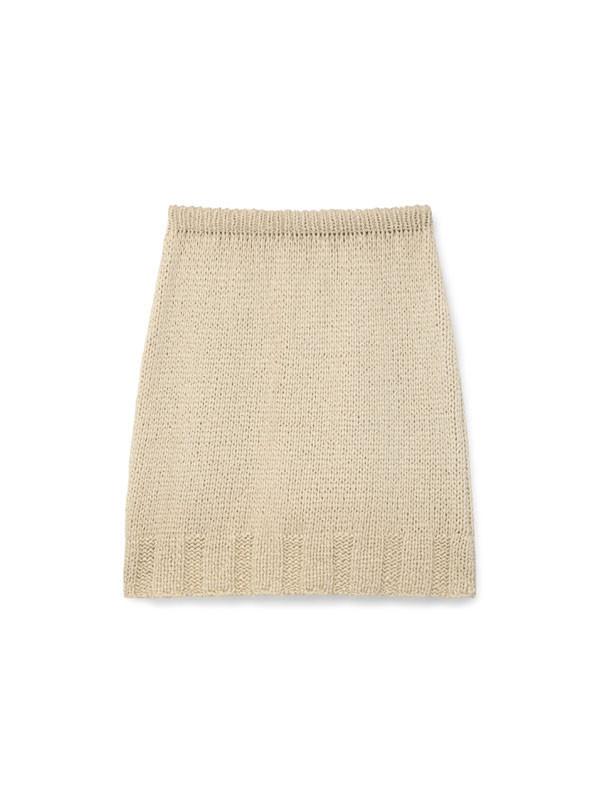 Paloma Wool Carolina Knit Skirt - Off White
