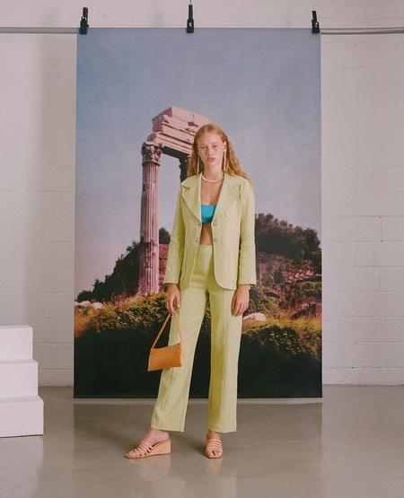 Paloma Wool Dolar Pant - Pastel Lime