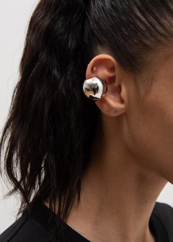 Alan Crocetti 25 Sphere Ear Cuff - Silver