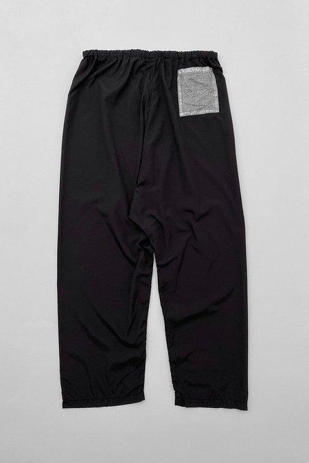 Uzi NYC Nylon Ripstop Drop Pant - Black