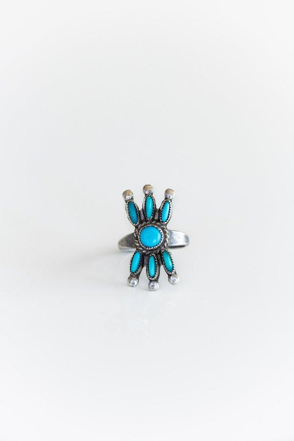 Vintage Zuni Bow Ring