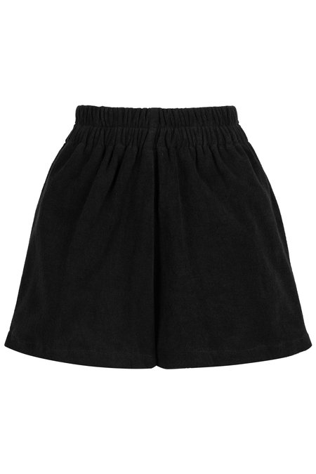 Wellington Factory Boxer Towelling Short - Black