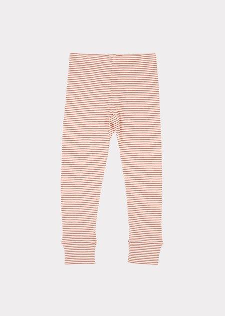 Kids Caramel Hampton Trouser - Ecru Stripe