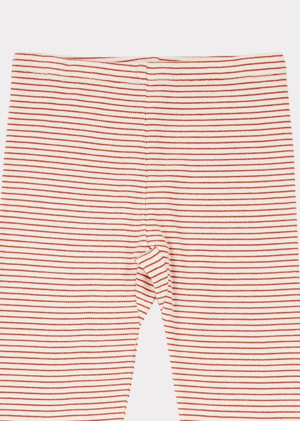 Kids Caramel Hampton Trouser - Ecru Stripe