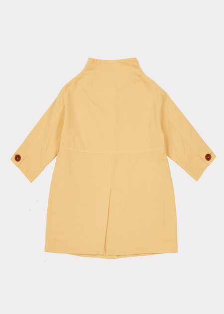 Kids Caramel Kensington Coat - Banana Yellow