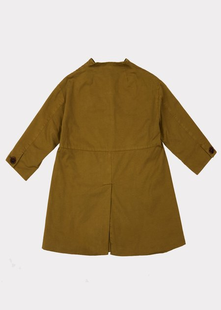 Kids Caramel Kensington Coat - Opaline Green