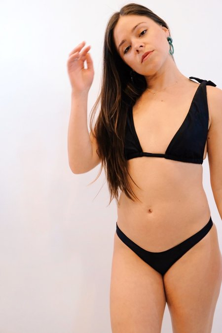 Sidway Janet Top - Black