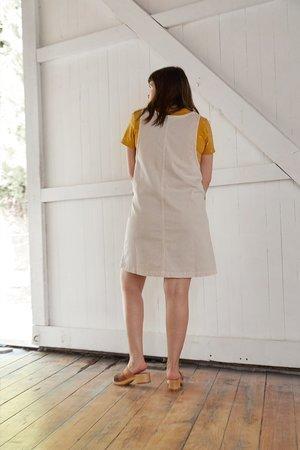 North Of West Caroline Jumper Dress - Fog