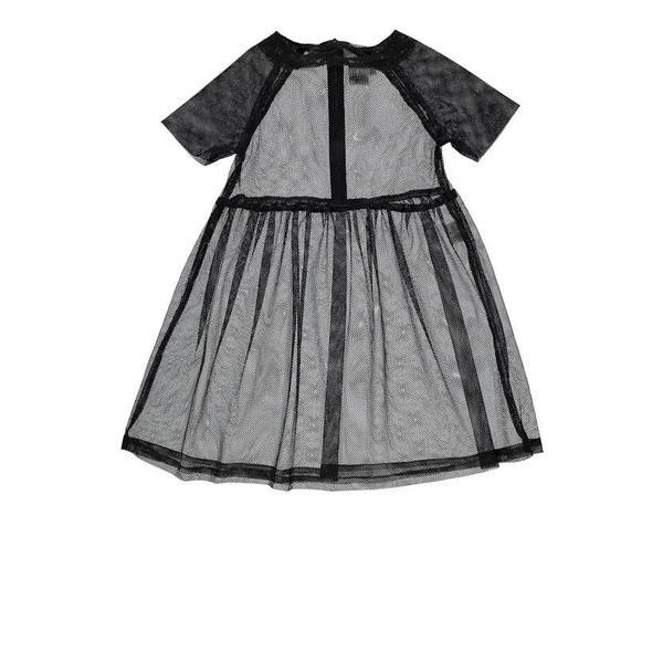 Kids Beau Loves Love Net Dress