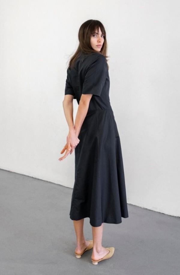 Delfina Balda Brenner Dress - Navy