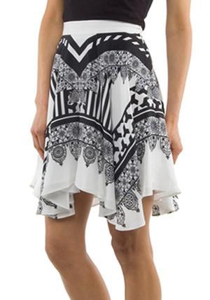 Primary New York Circle Moro Print Skirt