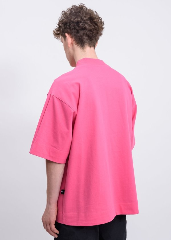 we11done Reversible Gig T-shirt - Navy/Pink